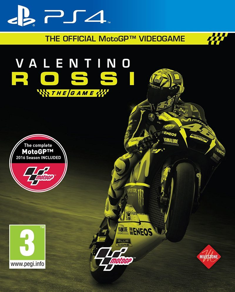 PS4 Valentino Rossi - The Game