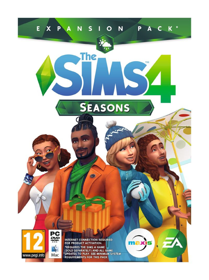 PCG The Sims 4 Seasons Expansion