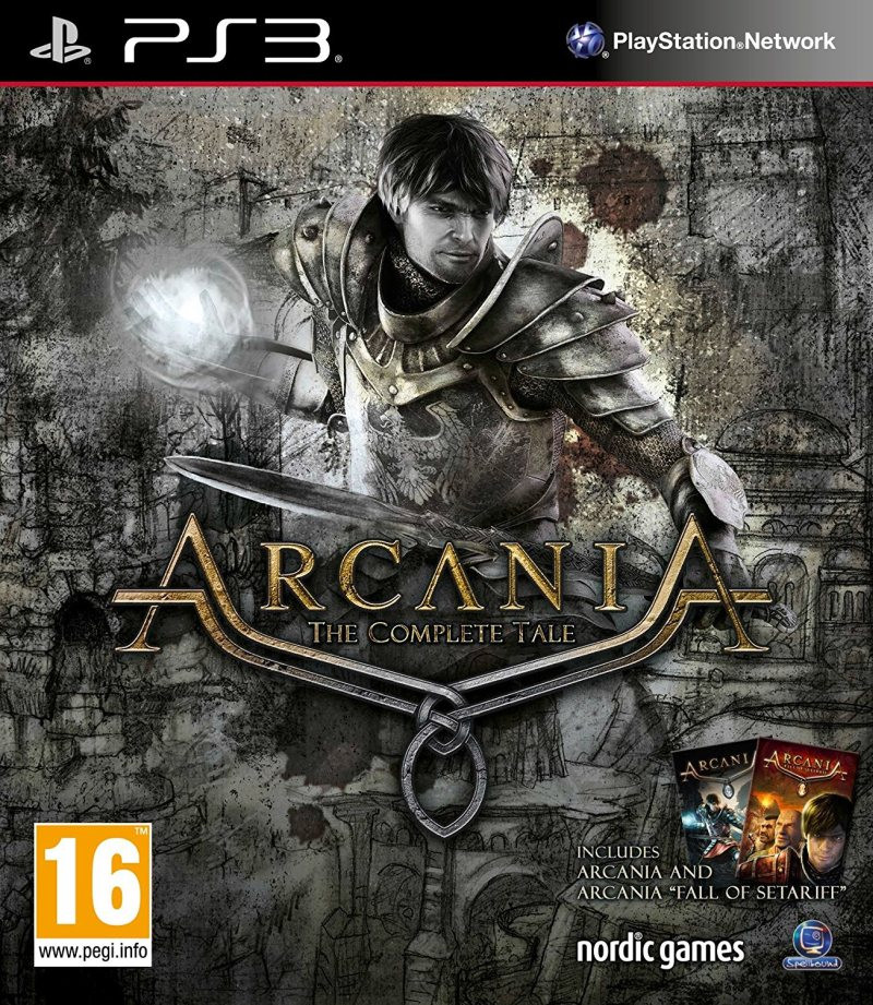 PS3 Arcania The Complete Tale