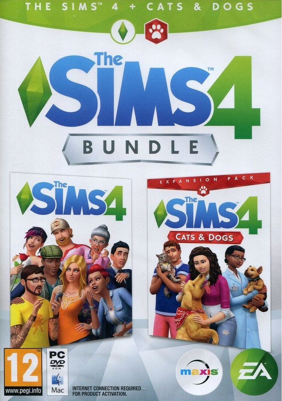 PCG The Sims 4 Deluxe Edition + Cats & Dogs