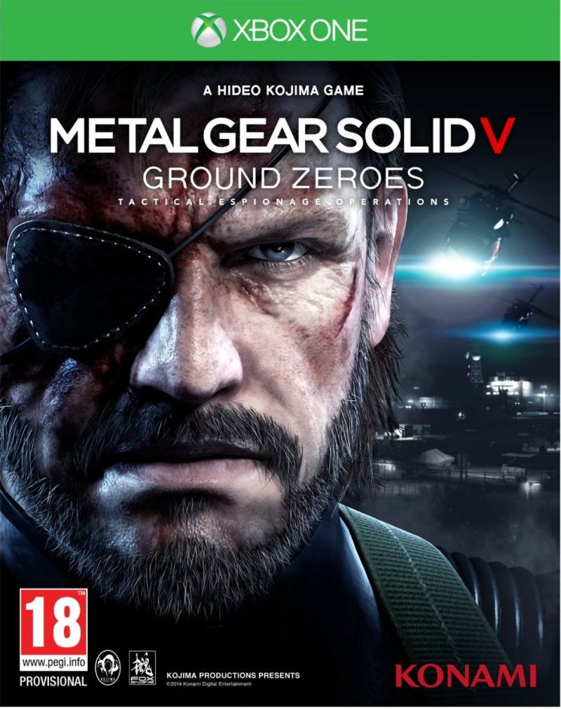 XBOX ONE Metal Gear Solid 5 - Ground Zeroes