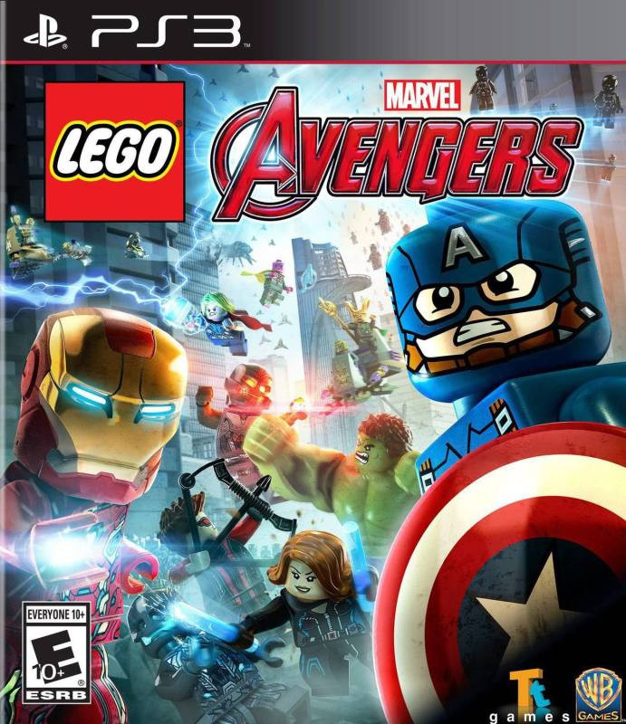 PS3 LEGO Marvels Avengers