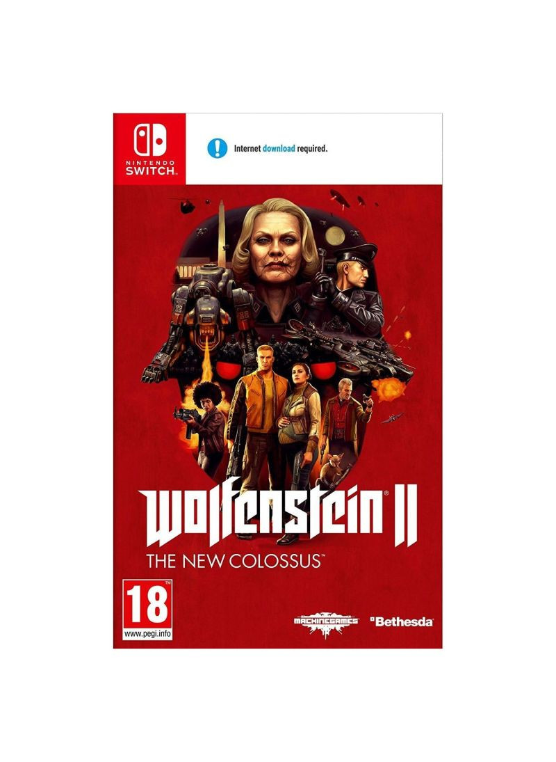 SWITCH Wolfenstein 2 - The New Colossus