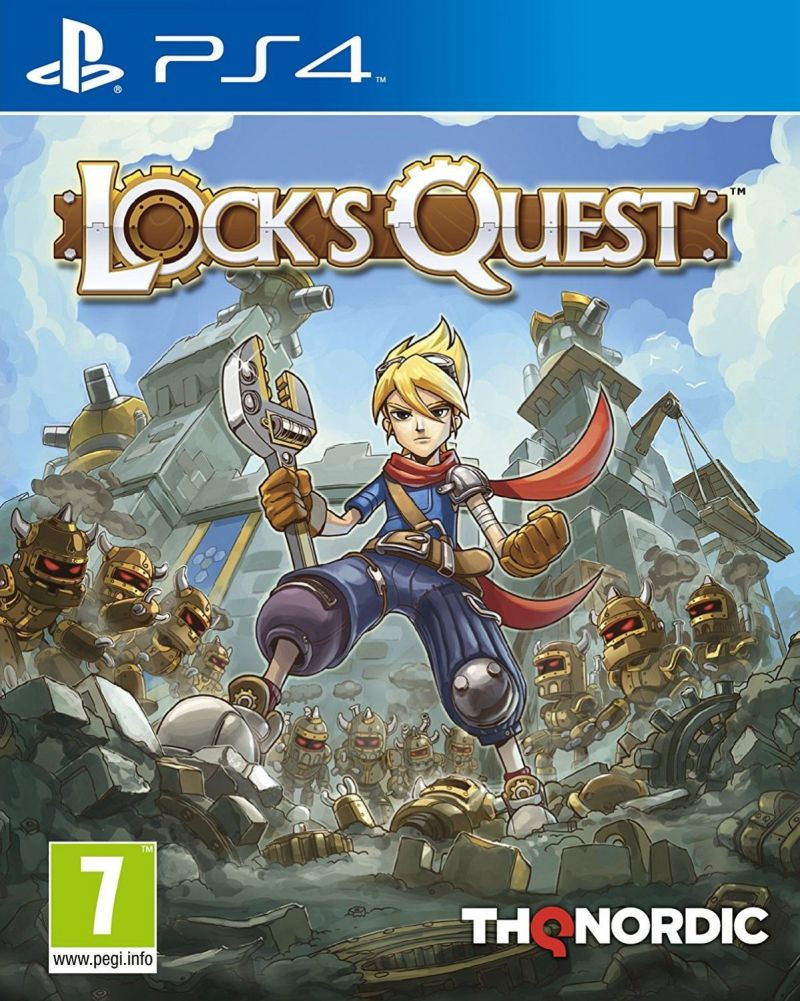 PS4 Locks Quest