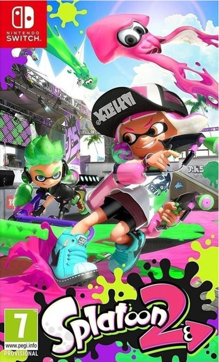 SWITCH Splatoon 2 - igrica za Nintendo Switch