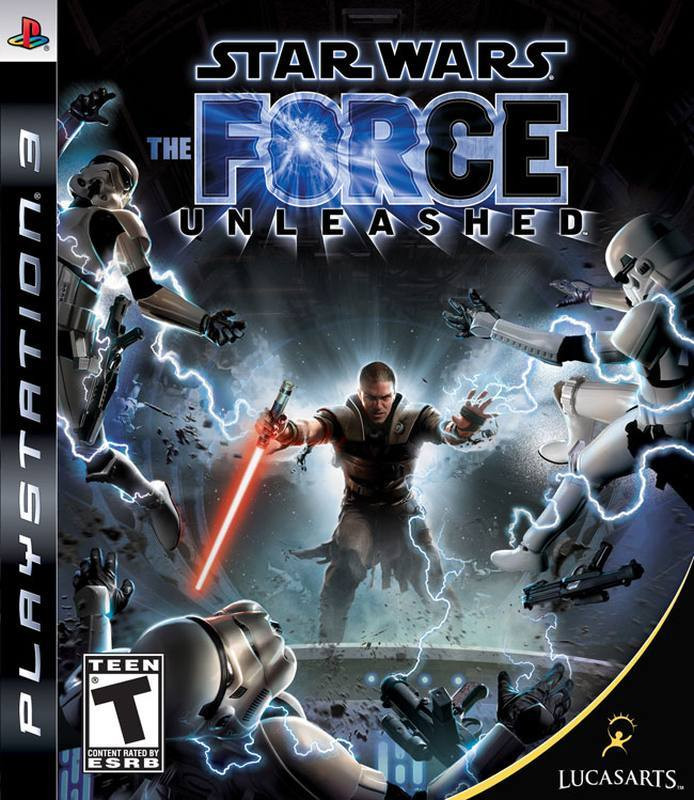 PS3 Star Wars - Force Unleashed