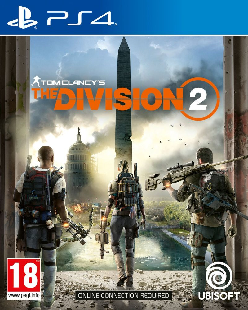 PS4 Tom Clancys: The Division 2