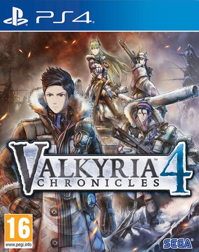 PS4 Valkyria Chronicles 4 Launch Edition