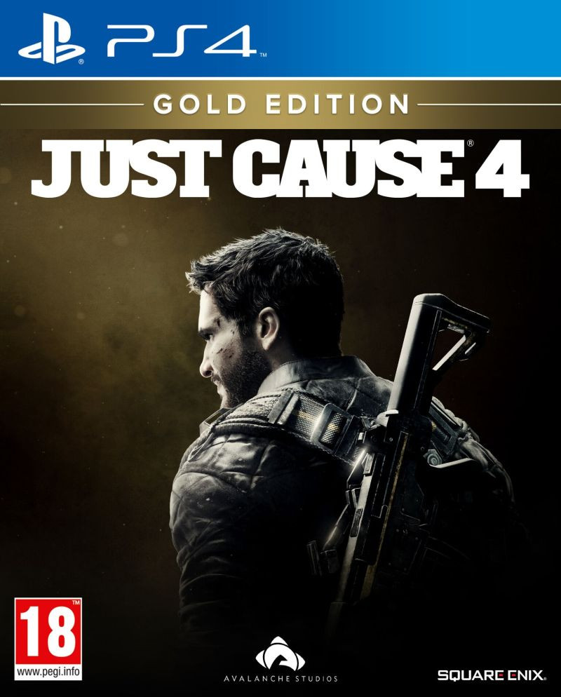 PS4 Just Cause 4 Gold Edition