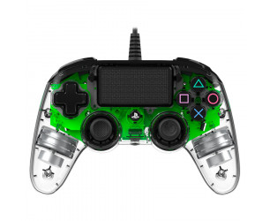 Gamepad Nacon PS4 Wired Illuminated Compact Green